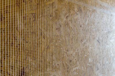 Toile de verre accrochage enduit intérieur